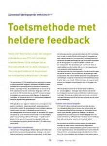 201211 - CVOpen - Toetsmethode met heldere feedback