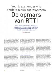 201310 - Onderwijsblad - De opmars van RTTI