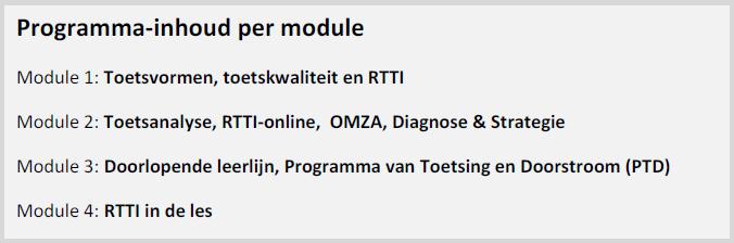 RTTI e-learning modules